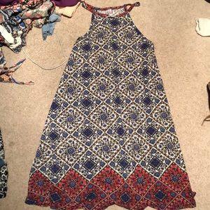 Dresses & Skirts - Halter patterned Sun dress